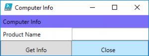Read more about the article Create Powershell GUI with WPF