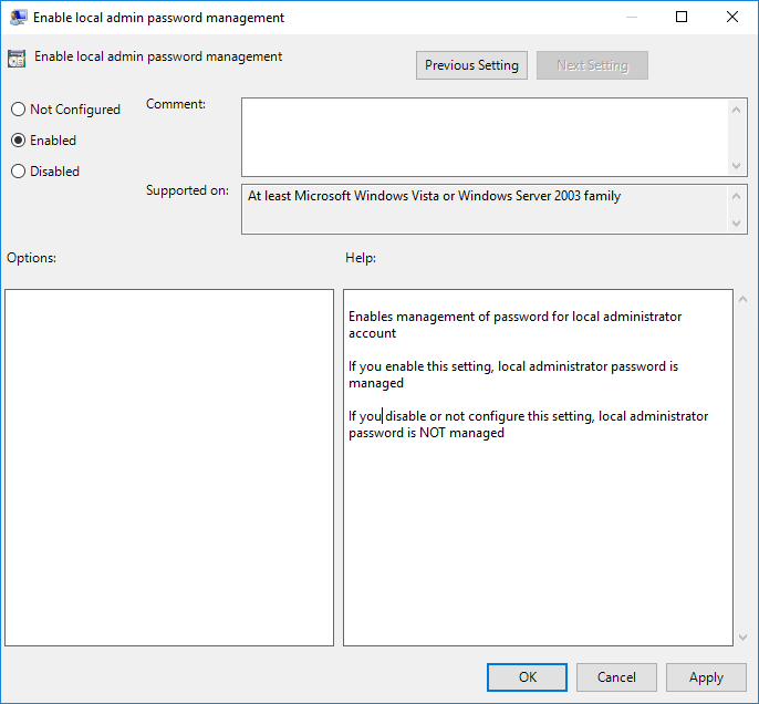 How to Configure Local Administrator Password Solution (LAPS