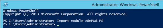 Configuring Local Administrator Password Solution (LAPS) 7