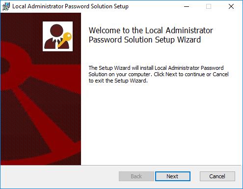 Configuring Local Administrator Password Solution (LAPS) 2
