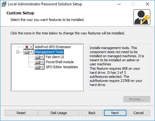 Configuring Local Administrator Password Solution (LAPS) 4