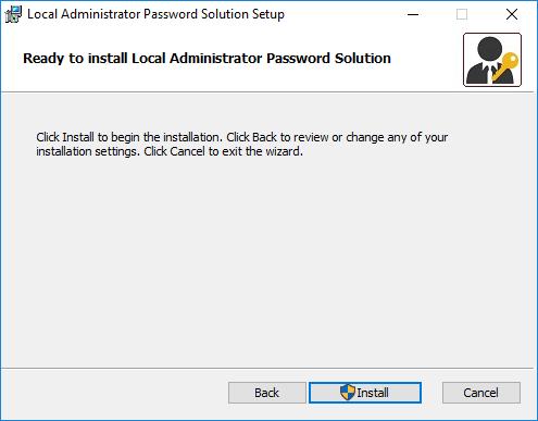 Configuring Local Administrator Password Solution (LAPS) 5