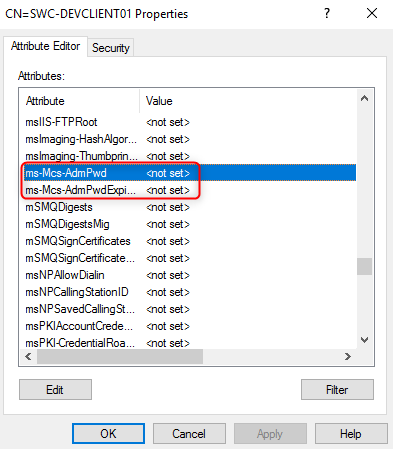 Configuring Local Administrator Password Solution (LAPS) 6