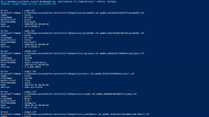 Read more about the article How to Export Drivers with Powershell